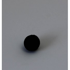 Perle molle noire 3 mm