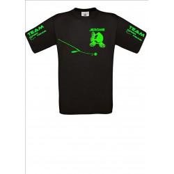 Tee shirt Noir team sandre