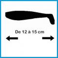 De 12 à 15 cm